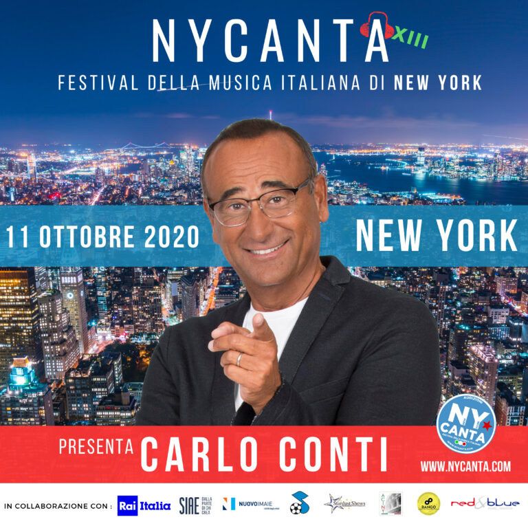 Carlo Conti presenterà New York Canta 2020